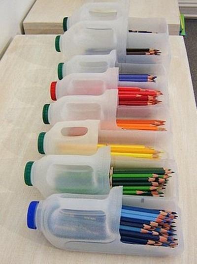 Idea reciclaje para habitaciones de niños