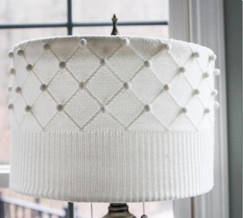 como decorar una pantalla de lampara 4