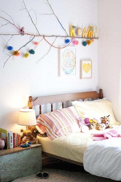 habitaciones de niños con toque vintage 1