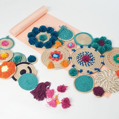 Manualidades con cuerda para decoraci n boho chic - Decoracion boho chic ...