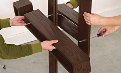 DIY mueble funcional para decorar la entrada de casa 4
