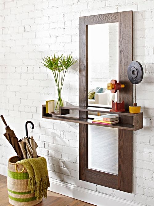DIY: mueble funcional para decorar la entrada de casa