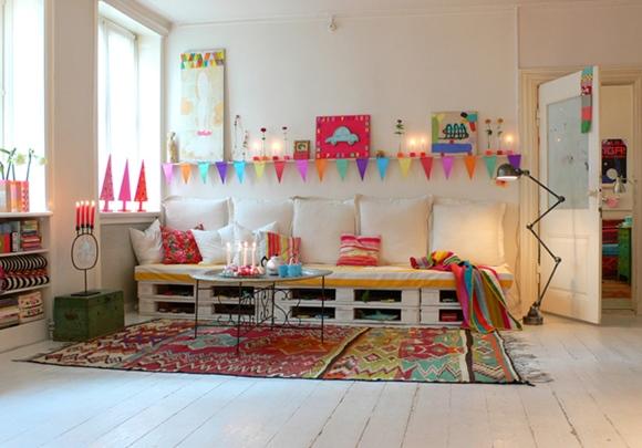 Idea decoraci n reciclar pal s para sof s bricomanitas deco - Reciclaje de pales ...