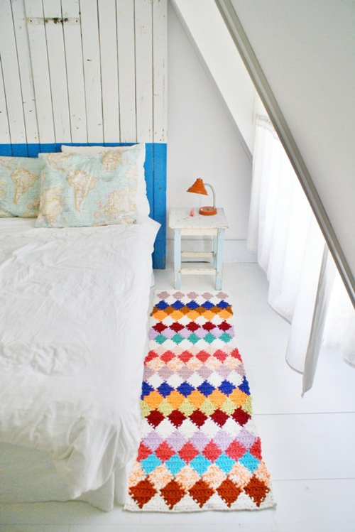 ideas en crochet para decorar la casa