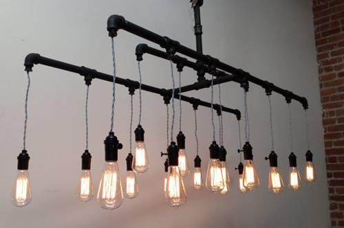 ideas de decoracion vintage con bombillas 4